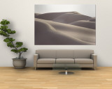 Several Sand Dunes Appear to Rise Like Giant Waves Wall Mural by George F. Mobley