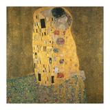 Kysset Premium Giclee-trykk av Gustav Klimt