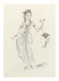 Designs For Cleopatra LIII Premium Giclee Print by Oliver Messel