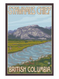 Stawamus Chief, Squamish, British Columbia, Canada Prints by  Lantern Press