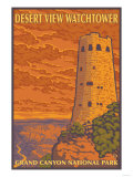 Desert Watchtower, Grand Canyon, Arizona Prints by  Lantern Press
