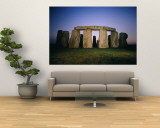 Stonehenge was Built in Four Stages Beginning Sometime Around 3,100 B.C. Wall Mural by Richard Nowitz