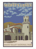 Scotty's Castle, Death Valley, California Prints by  Lantern Press