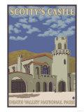Scotty's Castle, Death Valley, California Prints by  Lantern Press