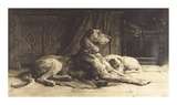 Companions Premium Giclee Print by Herbert Dicksee