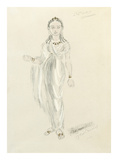 Designs For Cleopatra LIV Premium Giclee Print by Oliver Messel
