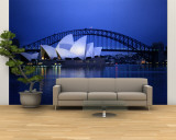 Harbor and Sydney Opera House Wall Mural – Large by Sam Abell