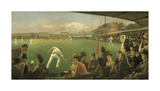 Imaginary Cricket Match, England versus Australia, 1886 Premium Giclee Print by Sir Robert Staples