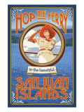Pin, San Juan Islands, Washington Prints