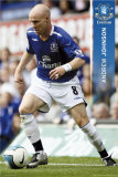 Everton- Andrew Johnson Poster