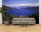Emerald Bay, Lake Tahoe, California, USA Wall Mural – Large by Adam Jones