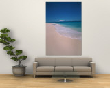 Scenic Tropical Beach, Seychelles Wall Mural by Nik Wheeler