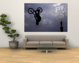 Free Ride BMX Practice Wall Mural