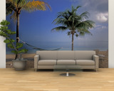 Beach Scene at The Inn at Bahama Bay, Grand Bahama Island, Caribbean Wall Mural – Large by Nik Wheeler