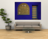 Doorway in Jardin Majorelle, Marrakech, Morocco Wall Mural by Darrell Gulin