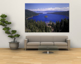 Emerald Bay, Lake Tahoe, California, USA Wall Mural by Adam Jones