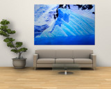 Blue Icebergs, Antarctica Wall Mural by Joe Restuccia III