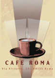 Cafe Roma Prints by Kelvie Fincham
