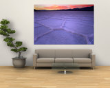 Salt Flats at Twilight, Death Valley National Park, U.S.A. Wall Mural by Ruth & Paoli, Max Eastham