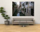 View of a Canal in a Quiet Residential Section of Venice Wall Mural by Taylor S. Kennedy