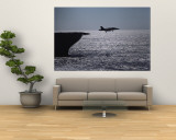 U.S.S. Coral Sea Aircraft Carrier, Flight Operations Wall Mural by Medford Taylor