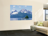 Northwest Fjord and Harris Bay Wall Mural by Rich Reid