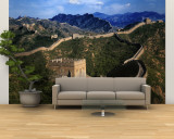 Landscape of Great Wall, Jinshanling, China Muurposters - Groot van Keren Su