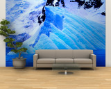 Blue Icebergs, Antarctica Wall Mural – Large by Joe Restuccia III