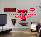 Texas Tech Red Raiders Logo- Fathead Wallstickers