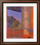 Open Window Print by Pierre Bonnard