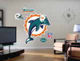 Miami Dolphins Logo- Fathead Wall Decal