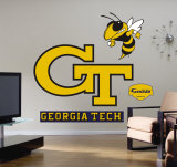 Georgia Tech Logo- Fathead Wall Decal