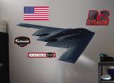 B-2 Stealth Bomber- Fathead Wall Decal
