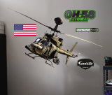 OH-58 Kiowa Warrior- Fathead Wall Decal