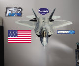 F-22 Raptor- Fathead Wall Decal