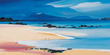 Eigg From Kilmory Collectable Print by Pam Carter