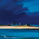 The Row, Tiree Collectable Print by Pam Carter