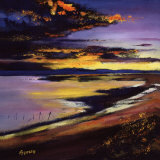 Cree Estuary Sunset Collectable Print by Davy Brown