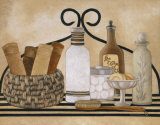 Bath Shelf I Prints by Kay Lamb Shannon