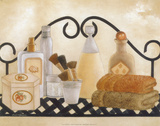 Bath Shelf II Prints by Kay Lamb Shannon