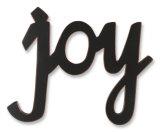 Alegría Cartel de madera