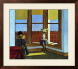 Room In Brooklyn Posters by Edward Hopper