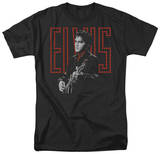 Elvis - Red Guitarman T-Shirt