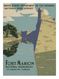 Fort Marion National Monument, St. Augustine, Florida, c.1938 Prints