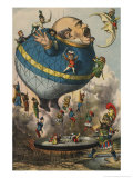 I Volatori, Les Messieurs qui Volent, c.1880 Prints