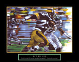 Strive: Football Prints by Bill Hall