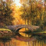 T. C. Chiu - Stone Bridge Obrazy