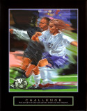Challenge: Soccer Art by Bill Hall