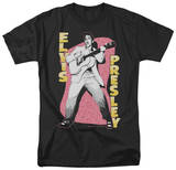 Elvis - Pink Rock T-Shirt