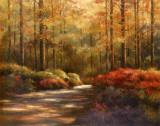 Autumn Trail Poster von T. C. Chiu